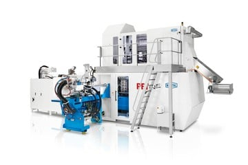 High-performance and flexible PET-LINE injection molding system